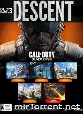 Call of Duty Black Ops 3 DLC Descent / Кал оф Дьюти Блэк Опс 3 Дополнение Десцент